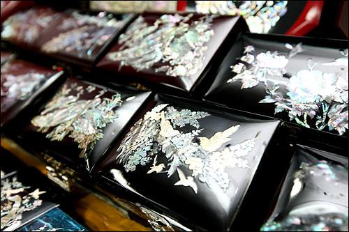 螺鈿の宝石箱 20,000ウォン~