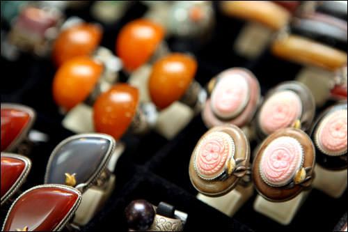 コリアンテイストの指輪 50,000ウォン~