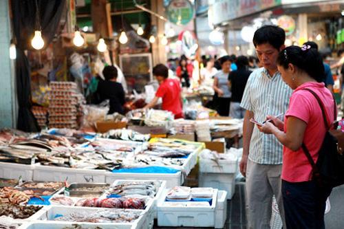 スーパーより安い市場の利用も増加