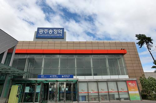 KTX光州松汀駅