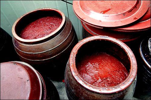 発酵するにつれ徐々に深みのある赤色に