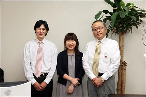 日本語が堪能なスタッフ