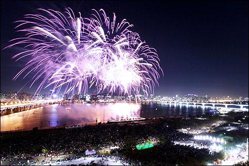 汝矣島のソウル世界花火祭り(写真はイメージです)