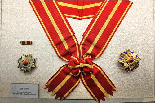 韓国建国の功労者に与えられる「建国勲章」