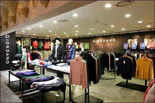 衣類ブランド「GIODARNO」のイメージモデル