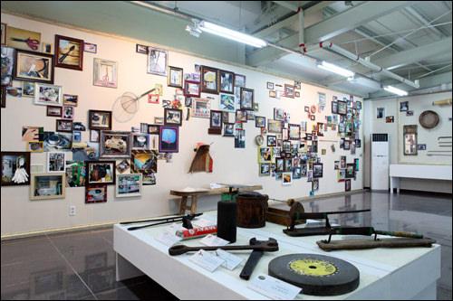 「良洞文化センター」の展示