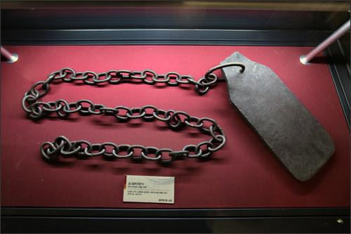 重りのついた鎖