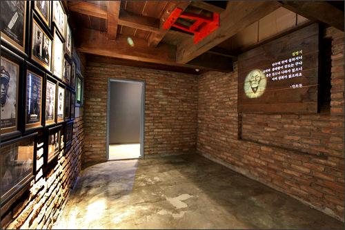死刑場の地下室