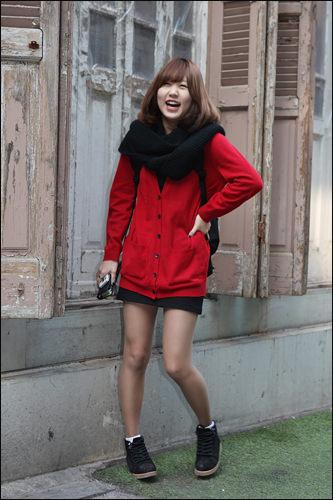 韓国女子のファッション変遷