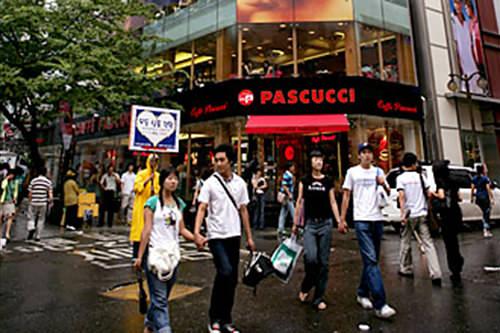 2005年~2009年PASCUCCI1坪/2億559万ウォン(2009)