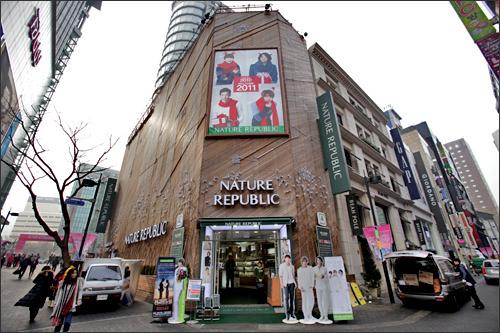 2009年~現在NATURE REPUBLIC1坪/2億595万ウォン(2011)