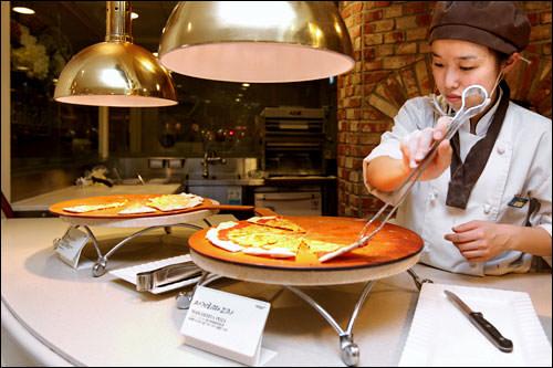 マルガリータピザとマイレスピザ