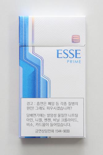 ESSE(LIGHTS) タール4.5ニコチン0.45㎎で4,500ウォン