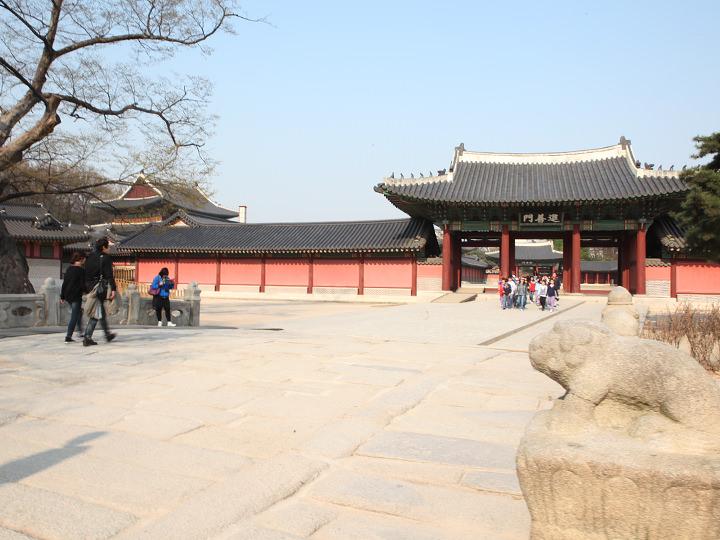 ソウルに残る最古の石橋、錦川橋