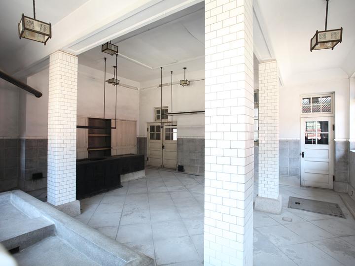 大造殿にある西洋式の台所