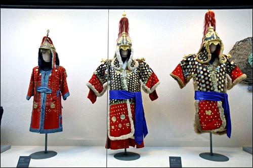 戦争歴史室内の展示