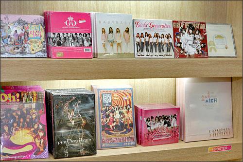 日本語が可能なので、お目当てのCDが見つけやすい!