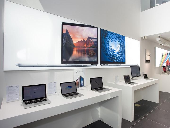 Mac製品 体験コーナー