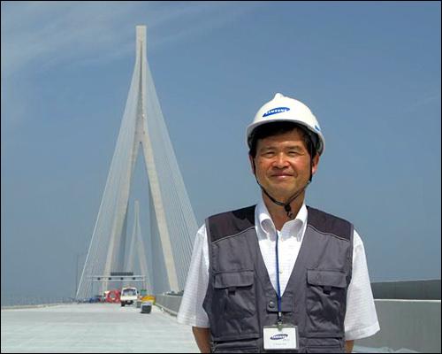 工事当時の田中さん