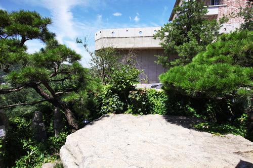 ハンソン&ユジュ(チェ・ジョンアン)がよく遊んでいた庭