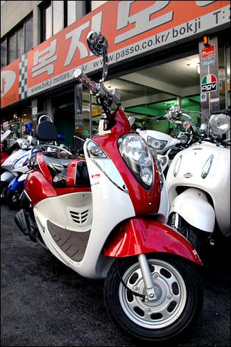 台湾製のスクーター