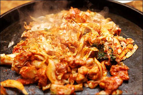 胃腸が丈夫な肉食系タッカルビ