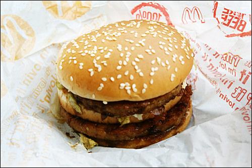 間食までヘビーな肉食系プルコギバーガー
