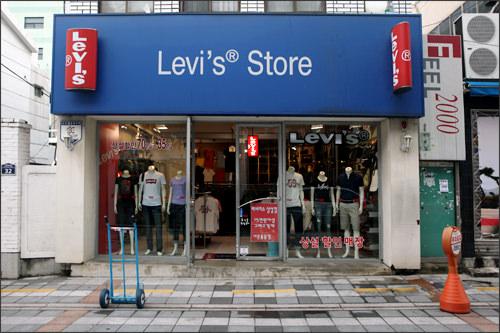Levi's(リーバイス)釜山大店(地図番号:緑3)