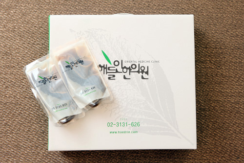 6.韓薬(必要時)治療内容によっては、韓薬が処方されることもあります(1ヶ月単位で購入可能。日本人旅行者の場合、何ヶ月分かまとめて計算時、周期配送も可)。