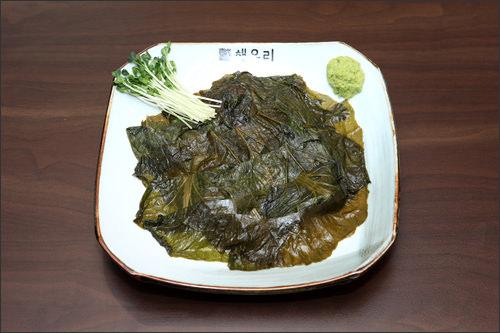 高菜の葉キムチ