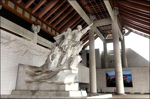 独立記念館天安市に位置。民族独立への歴史をつづった博物館