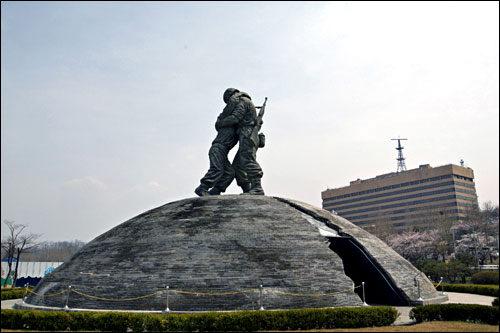 戦争記念館朝鮮半島の統一、平和を願って建てられた戦争記念館