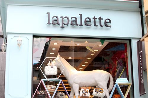 馬がモチーフの人気ブランドCupcakeの鞄などを取り扱っているlapalette