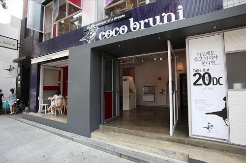 シックで落ち着いた雰囲気のチョコレートカフェcocobruni ※閉店