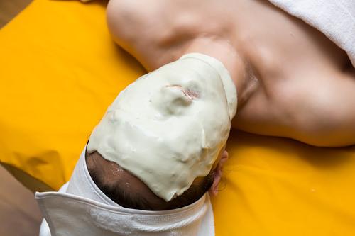 6.ゴールドベルベットマスクパック(2次パック)石膏パックで肌にたっぷりと栄養を補給します。