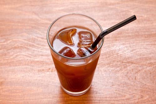 アイスアメリカーノ 3,100ウォンロースティングにこだわる「i'm t cafe」のコーヒーは、気軽にいただける値段設定がうれしい