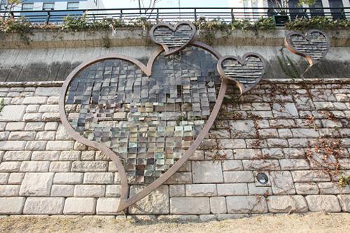 キュヒョンがソヒョンに告白した清渓川(チョンゲチョン)の「プロポーズの壁」(位置)