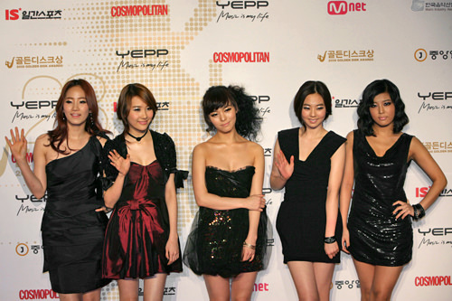 Wonder Girls (写真はメンバー交代前のものです)