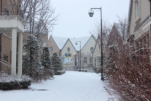 冬はさらに風情深い「英語村」