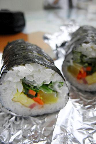 ヤチェ(野菜)キムパッ