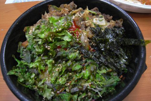 ソコギ(牛肉)ビビンバ