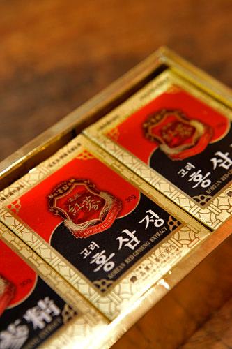 紅参ジョン(30gx3個入)100,000ウォン~