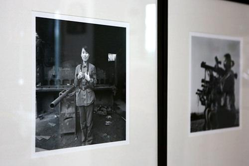 柳銀珪による朝鮮族の写真(左)など