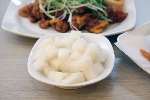 の 韓国 大根 酢漬け