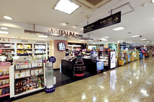 「ARITAUM」「innisfree」などの韓国コスメ店
