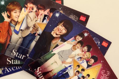 韓流スターが勢ぞろいのカード