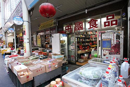 中国食品の品揃えが豊富