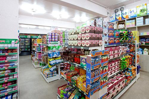 スーパーは地下1階