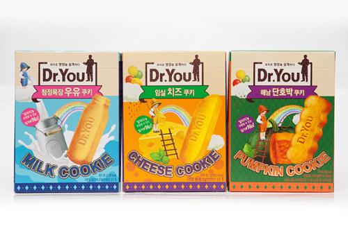 オリオン「Dr.You」(左からミルク、チーズ、パンプキン)