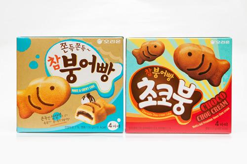左:オリオン「チャムプンオパン」右:オリオン「チャムプンオパン チョコプン」